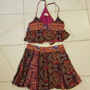 Everly 2 piece skirt set